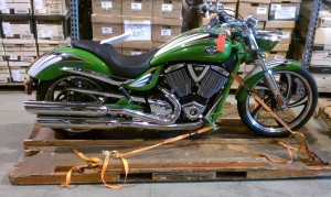 Commercial Storage and Warehousing | Motorcycle Skid