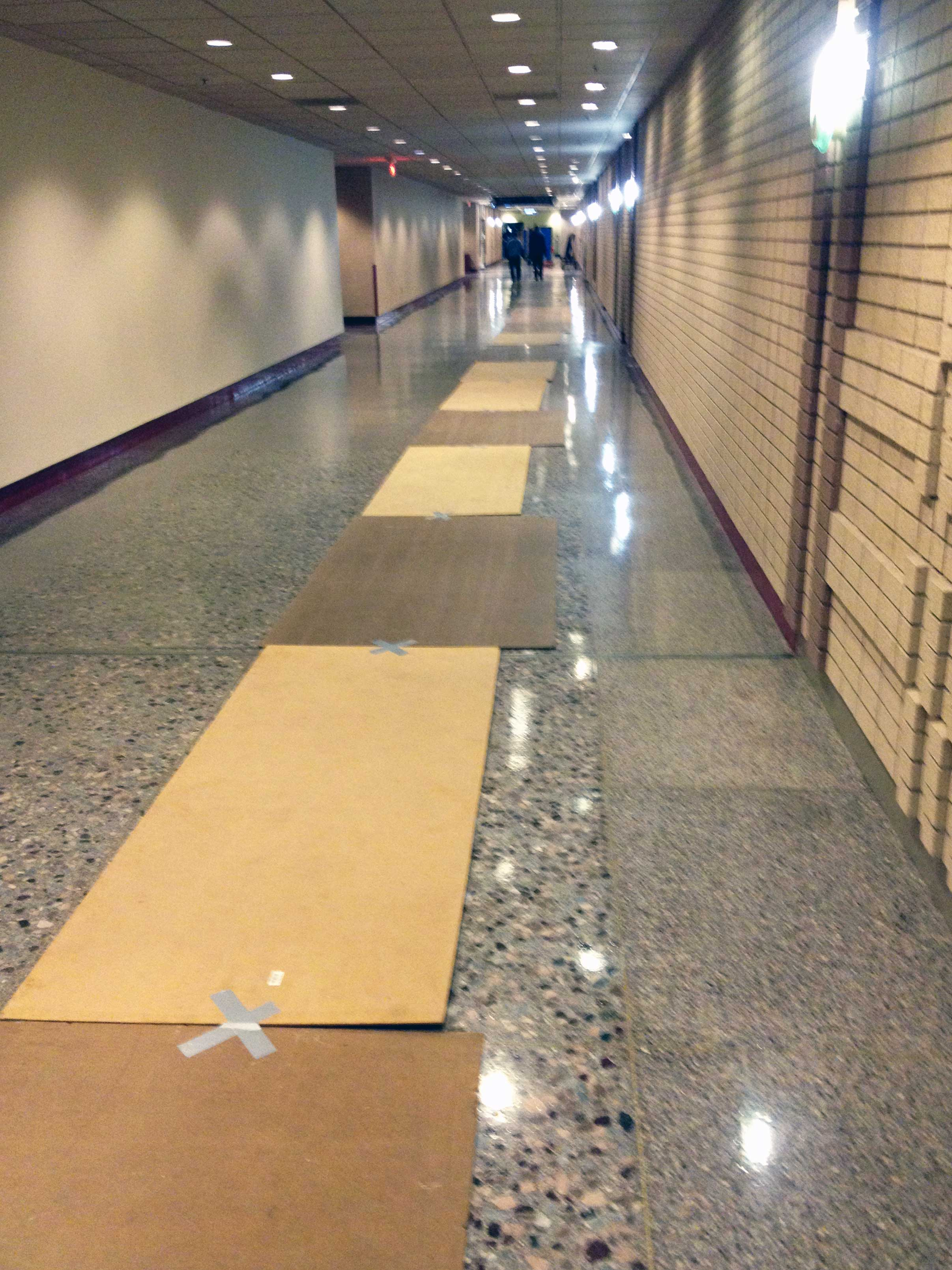 Masonite Boards During Successful Office Move