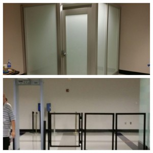 Private Screening Room, Gates, and Barriers Installed at Richmond International Airport