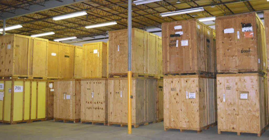 Palletized Boxes - Storage and last mile delivery company Maryland