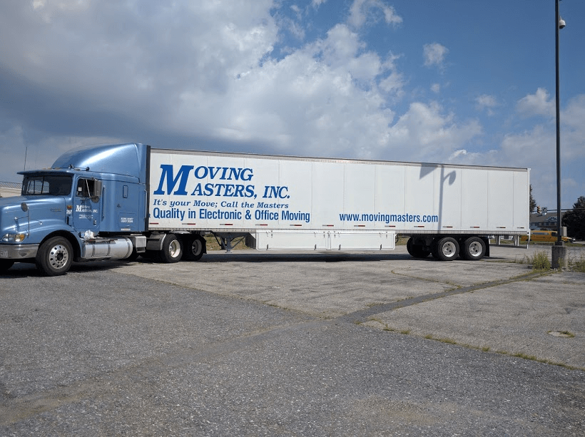 Summer moving truck. Electronics and Office Moving Maryland & Washington DC