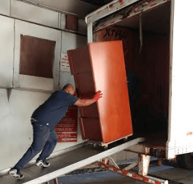 Pushing Into a Truck