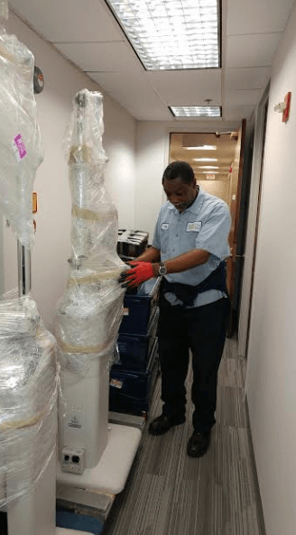 Ophthalmology Department Relocation - move3