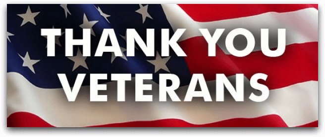 thank-you-veterans - Veteran Owned Company